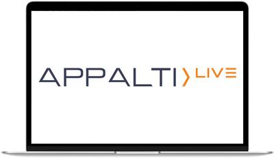 Logo della WebApp APPALTI Live